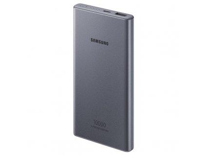 Powerbank Samsung 10000mAh, USB-C - šedá