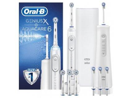 Ústní sprcha Oral-B  Aquacare 6 + Genius X