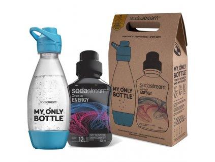 Láhev SodaStream sportovní set lahev 0,6 l + Energy SODA