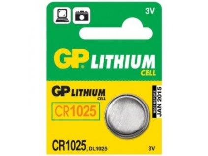 Baterie GP CR1025 LITHI, 3V, 30mAh