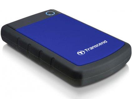 "HDD ext. 2,5"" Transcend StoreJet 25H3B 1TB - černý/modrý"