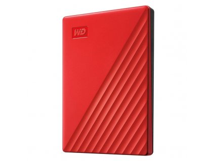 "HDD ext. 2,5"" Western Digital My Passport Portable 2TB, USB 3.0 - červený"