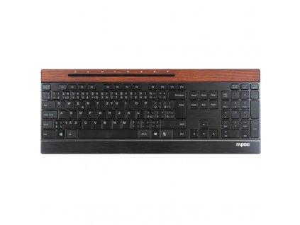 Klávesnice Rapoo E9260, CZ+SK layout - černá