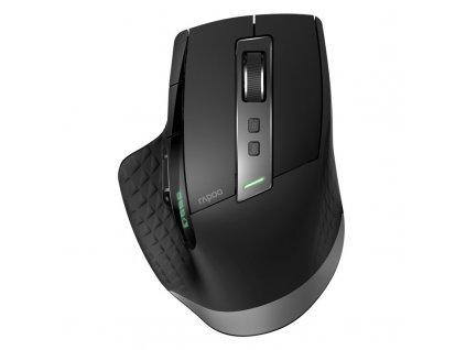 Myš Rapoo MT750S / laserová / 6 tlačítek / 3200dpi - černá