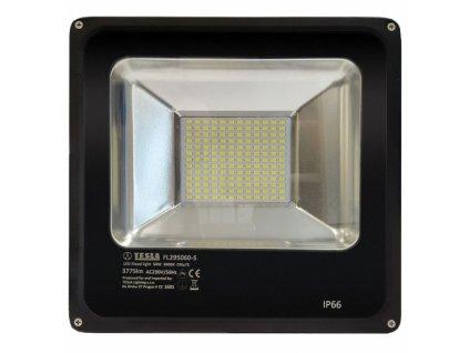 LED reflektor Tesla 50W, studená bílá, 3775lm - černý