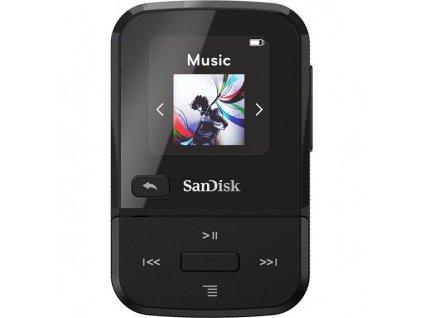 MP3 přehrávač SanDisk Clip Sport Go 16 GB, černý