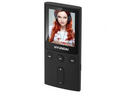 "MP3/MP4 přehrávač Hyundai MPC 501 FM, 8GB, 1,8"" displej, FM tuner, SD slot"