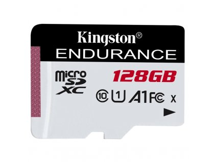 Paměťová karta Kingston Endurance microSDXC 128GB (95R/45W)