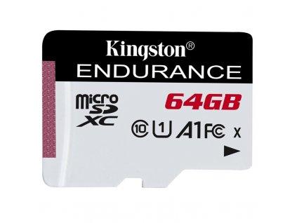 Paměťová karta Kingston Endurance microSDXC 64GB (95R/30W)