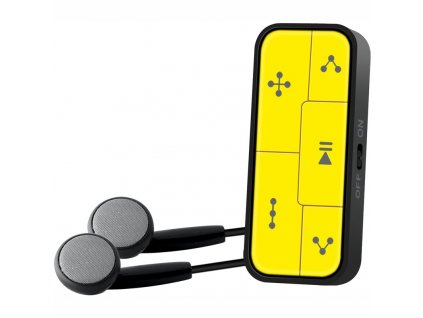 MP3 přehrávač Sencor SFP 2608, žlutý