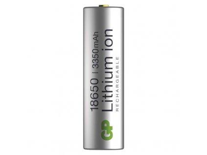 Baterie nabíjecí GP Lithium-ion 18650 3350mAh PCM, blistr 1ks