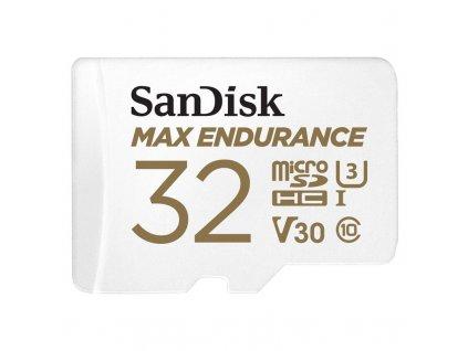 Paměťová karta Sandisk MAX ENDURANCE microSDHC 32 GB + adaptér