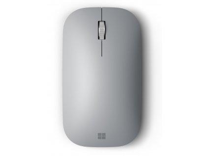 Myš Microsoft Surface Mobile Mouse Bluetooth 4.0 / BlueTrack/ 3 tlačítka / - stříbrné