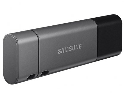 Flash USB Samsung Duo Plus 256GB USB-C USB-C - šedý