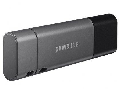 Flash USB Samsung Duo Plus 64GB USB-C USB-C - šedý