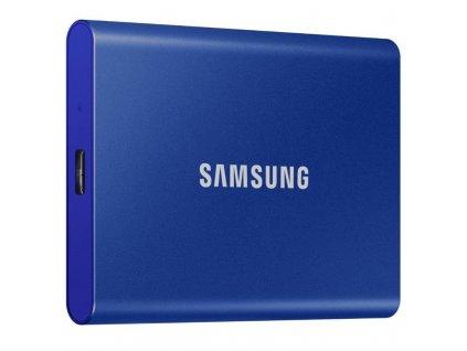 SSD externí Samsung T7 500GB - modrý