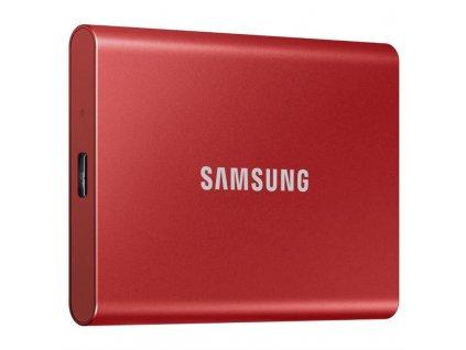 SSD externí Samsung T7 500GB - červený