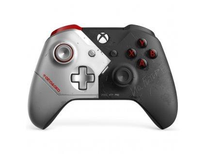 Gamepad Microsoft Xbox One Wireless - Cyberpunk 2077 Limited Edition