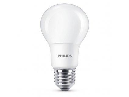 Žárovka LED Philips klasik, 7,5W, E27, studená bílá