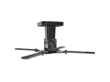Držák Meliconi PRO 100, stropní, pro projektor, nosnost 15kg - černý