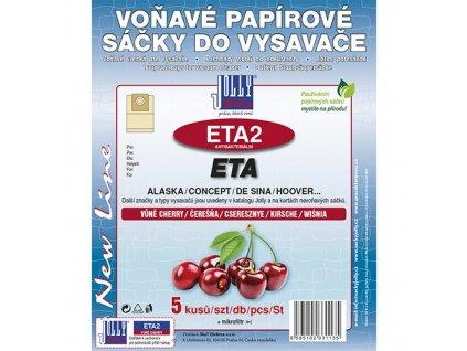 Sáčky do vysavače ETA 2 (5 ks) - cherry