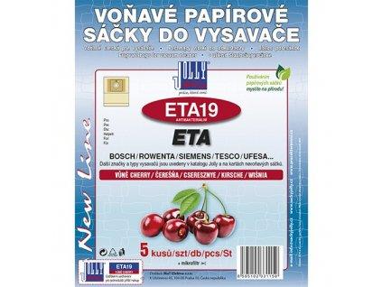Sáčky do vysavače ETA 19 (5 ks) - cherry