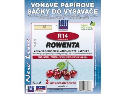 Sáčky do vysavače R 14 Rowenta (3 ks) - cherry