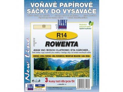 Sáčky do vysavače R 14 Rowenta (3 ks) - horská louka