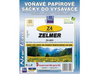 Sáčky do vysavače Z 4 Zelmer (5 ks) - horská louka