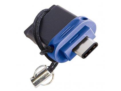 Flash USB Verbatim Store 'n' Go Dual Drive 64GB USB-C - černý/modrý