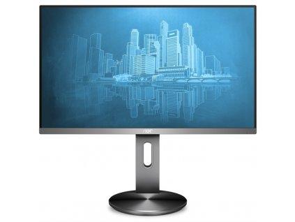 """Monitor AOC I2490PXQU/BT 23.8"""" stříbrný"""