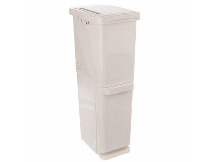 Odpadkový koš na tříděný odpad 35 l 2 díly