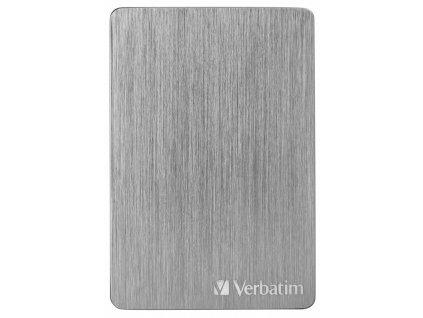 "HDD ext. 2,5"" Verbatim Store 'n' Go ALU Slim 2TB USB 3.2 - šedý"