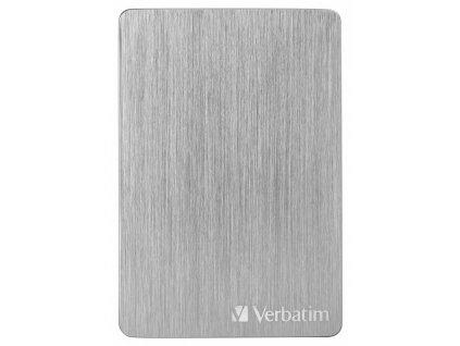 "HDD ext. 2,5"" Verbatim Store 'n' Go ALU Slim 2TB USB 3.2 - stříbrný"