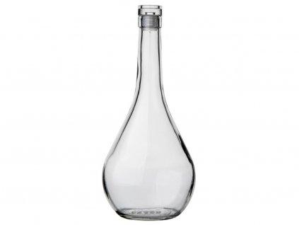 Skleněná láhev se zátkou Florina Kaplya 0,5 l