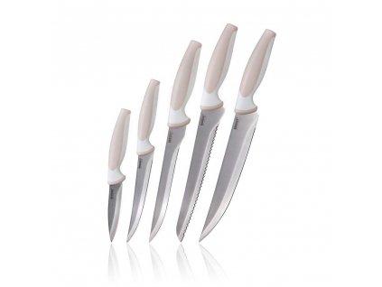 BANQUET Sada nožů TRINITY, 5 ks, krémová