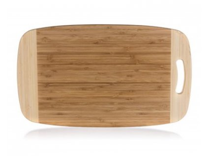 BANQUET Prkénko krájecí dřevěné BRILLANTE Bamboo 50 x 30 x 1,8 cm, s rukojetí