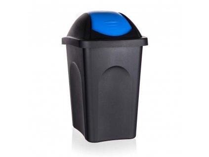 Koš odpadkový MP 30 l, modré víko