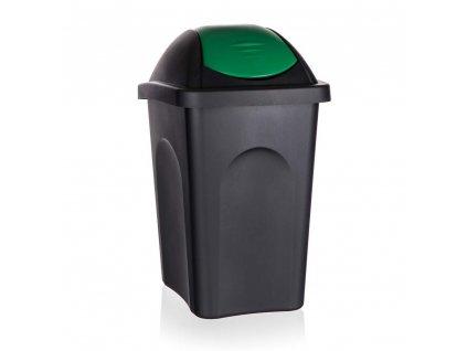 Koš odpadkový MP 30 l, zelené víko