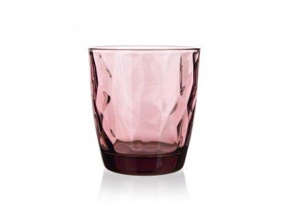 Sklenice Bormioli Diamond 300 ml fialová