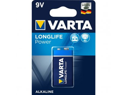Baterie Varta Longlife Power 9V, 6LP3146, blistr 1ks