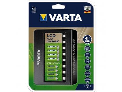 Nabíječka Varta LCD Multi Charger pro 8x AA/AAA