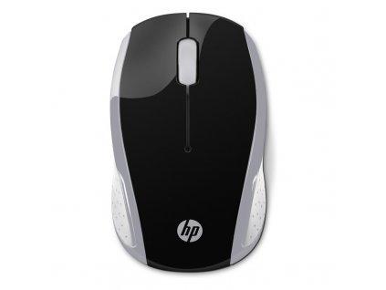 Myš HP 200 / optická/ 3 tlačítka / 1000DPI - černá/stříbrná