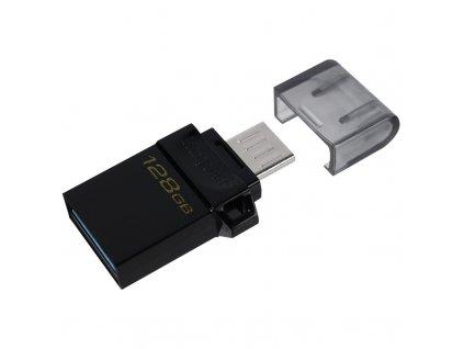 Flash USB Kingston DataTraveler microDuo3 Gen2 128GB - černý