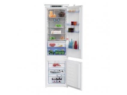 Kombinovaná chladnička Beko BCNA306E4SN, vestavná