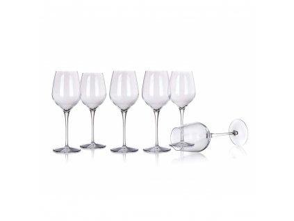 Sada sklenic na víno TRE SENSI 305 ml, 6 ks, S