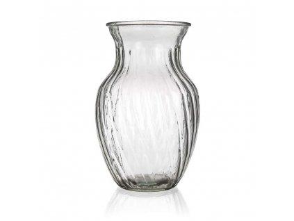 BANQUET Váza skleněná MOLLA 20 cm