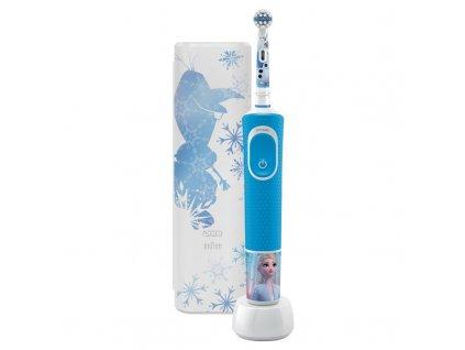 Zubní kartáček Oral-B Vitality Kids Frozen II + cestovní pouzdro