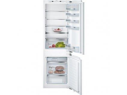 Kombinovaná chladnička Bosch KIS86AFE0, vestavná