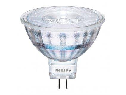 Žárovka LED Philips bodová, 5W, GU5,3, teplá bílá
